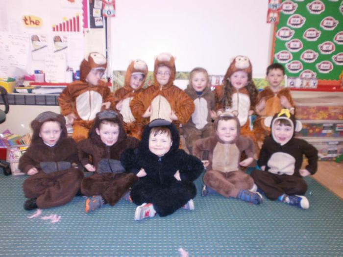 All our cheeky monkeys!!!!!