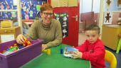 Parents enjoy Stay and Play days at St. Canice Nursery